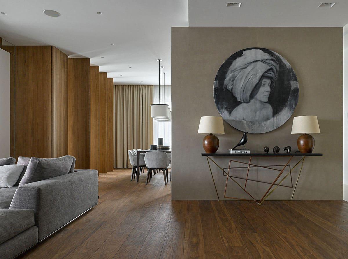 Alexandra Fedorova Designs An Apartment With Panoramic
