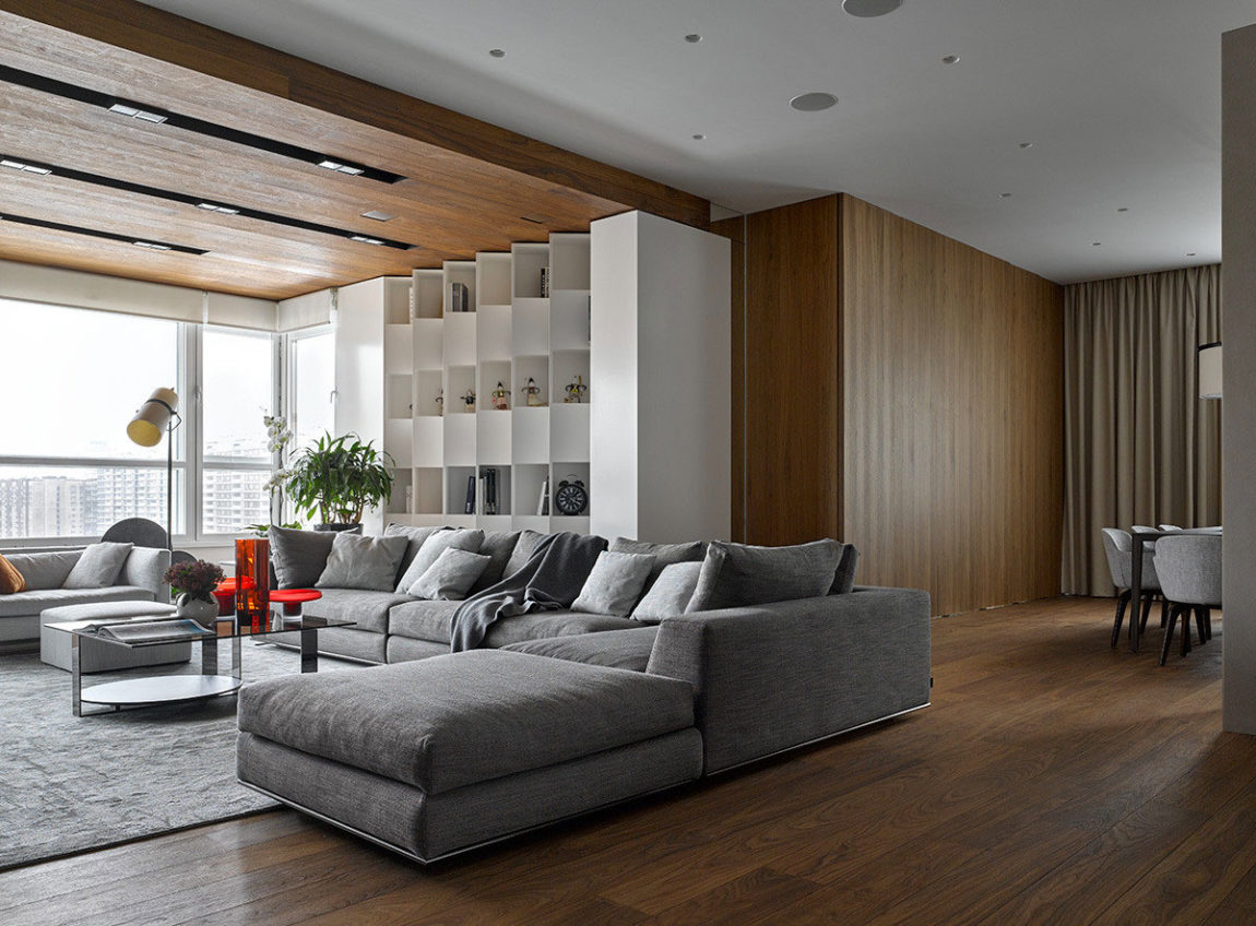 Apartment with Pan Views of Moscow by Alexandra Fedorova (3)