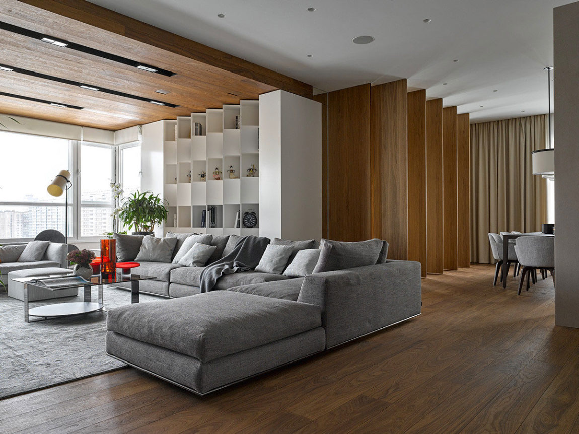 Apartment with Pan Views of Moscow by Alexandra Fedorova (4)