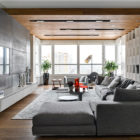 Apartment with Pan Views of Moscow by Alexandra Fedorova (5)