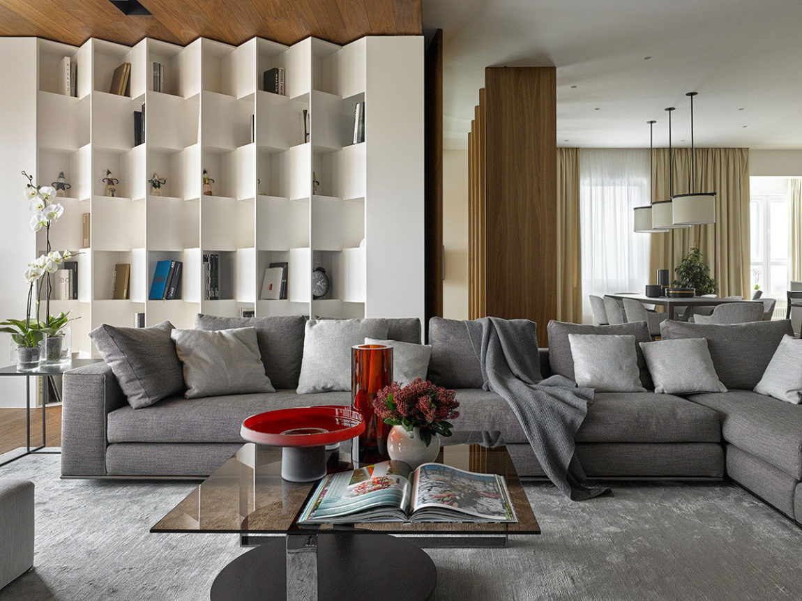 Apartment with Pan Views of Moscow by Alexandra Fedorova (6)