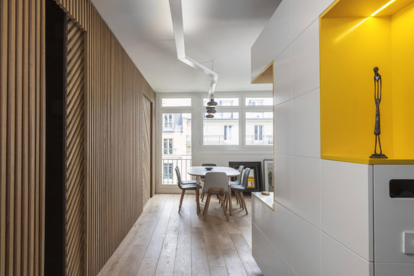 Agence Glenn Medioni Remodel A Private Residence For Father And Son In Paris