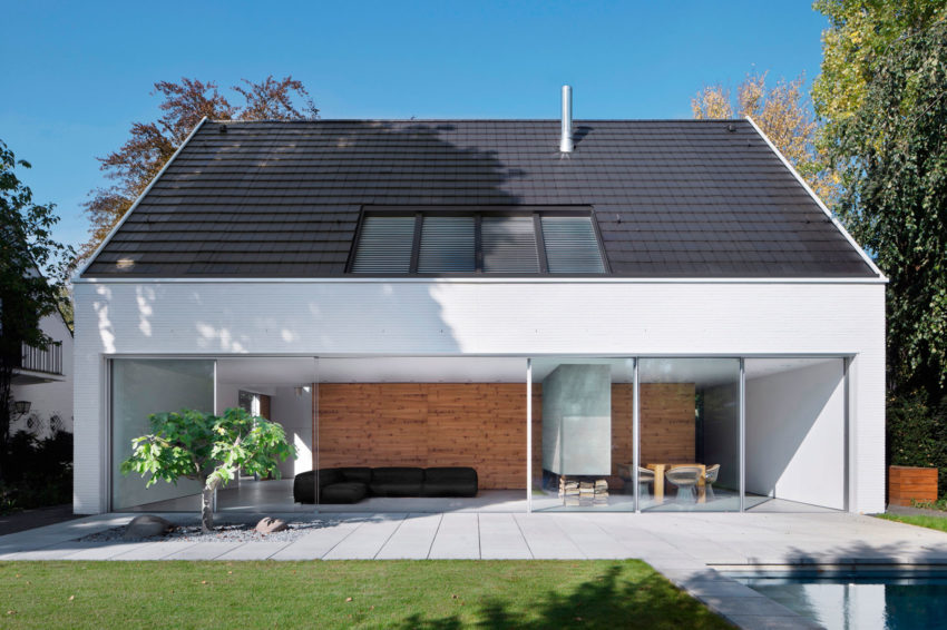 Architekten wannenmacher m ller gmbh design a luminous private residence in d sseldorf - Architekten in dusseldorf ...
