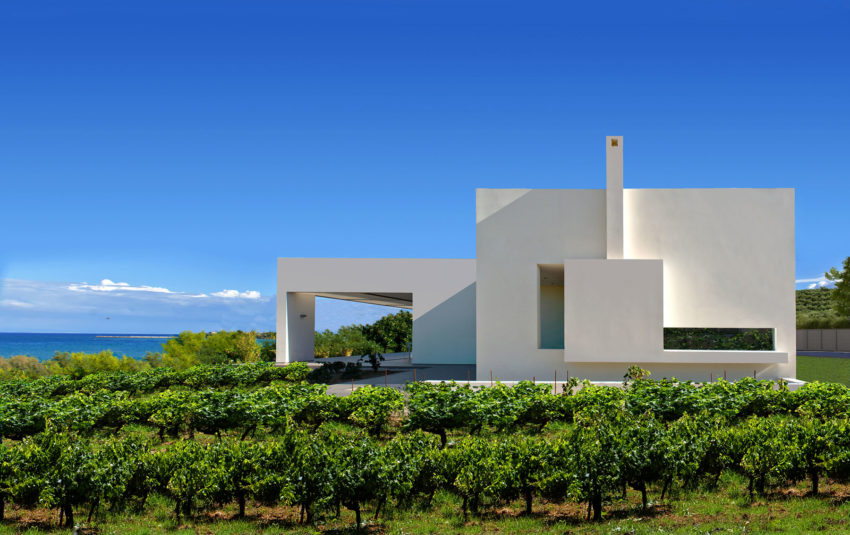 House in Zakynthos by Katerina Valsamaki Architects (2)