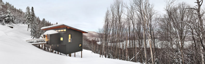 Laurentian Ski Chalet by Robitaille.Curtis (1)