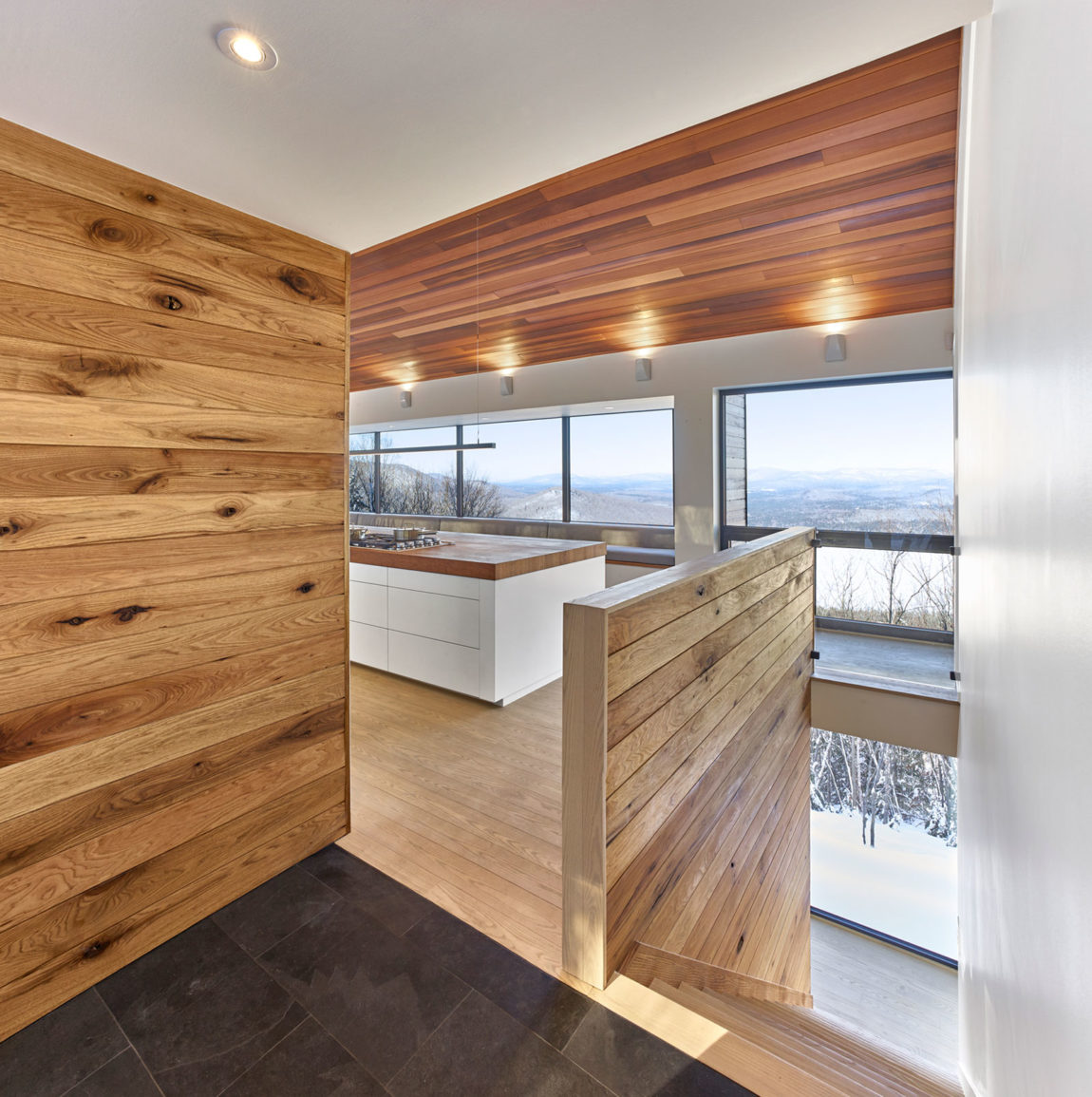 Laurentian Ski Chalet by Robitaille.Curtis (9)