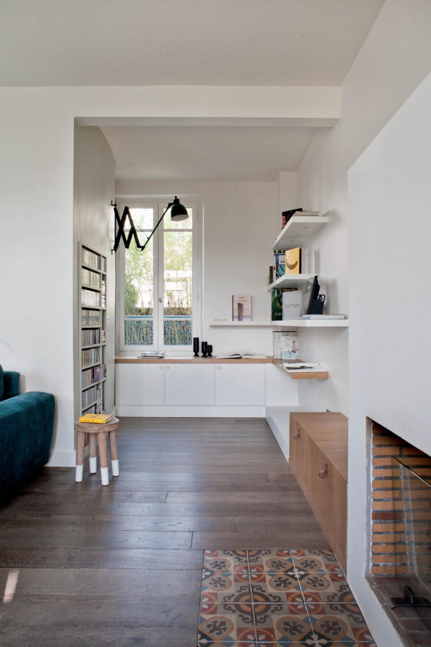olivier chabaud architecte designs a private residence in bois colombes. Black Bedroom Furniture Sets. Home Design Ideas