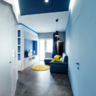 Prismatic Blue Apartment by Brain Factory (2)