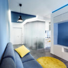 Prismatic Blue Apartment by Brain Factory (4)