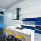 Prismatic Blue Apartment by Brain Factory (5)