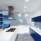 Prismatic Blue Apartment by Brain Factory (7)