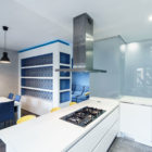Prismatic Blue Apartment by Brain Factory (8)