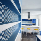 Prismatic Blue Apartment by Brain Factory (9)