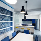 Prismatic Blue Apartment by Brain Factory (10)