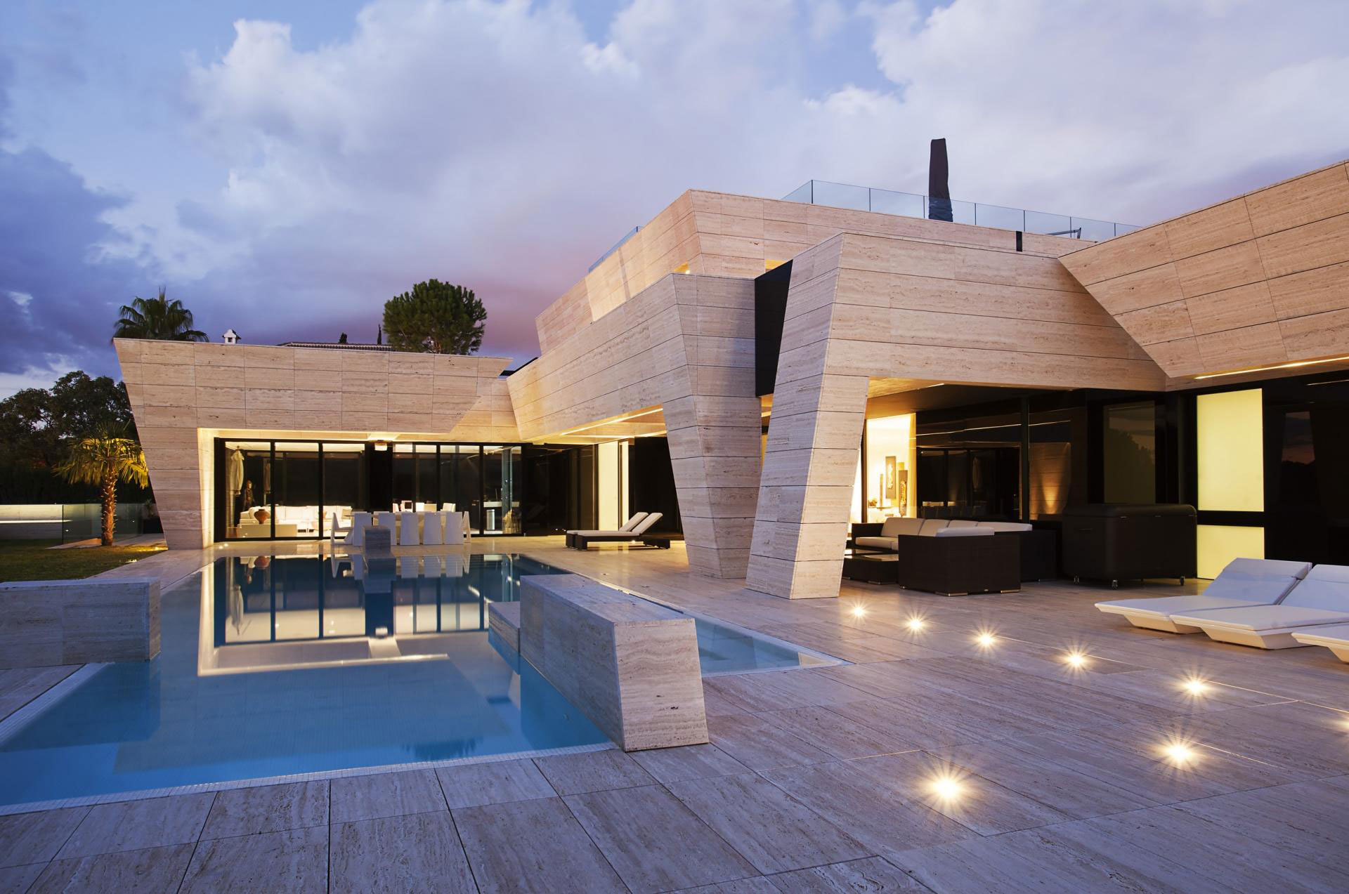 a cero design a modern home in seville spain - Modern Home Building