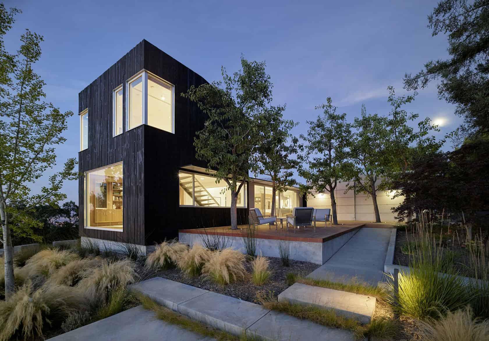 A Bright Contemporary Home In Los Gatos California