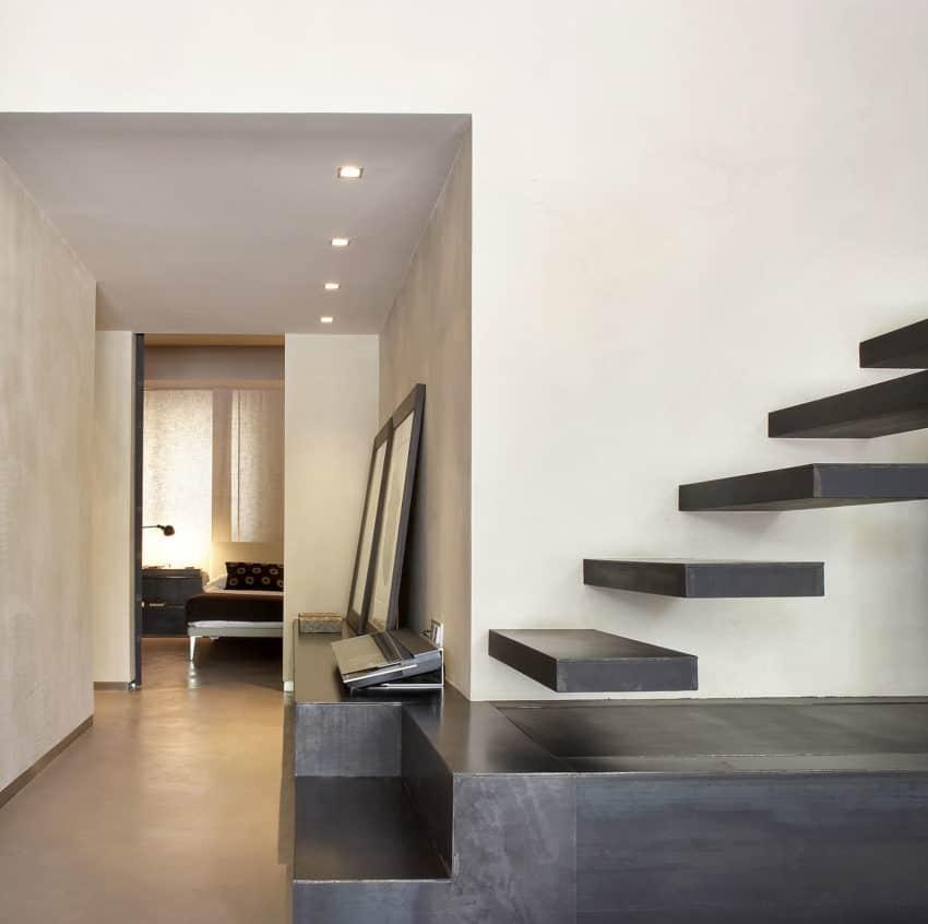 Barcelona Apartment View: GCA Architects Design A Contemporary Apartment In Barcelona