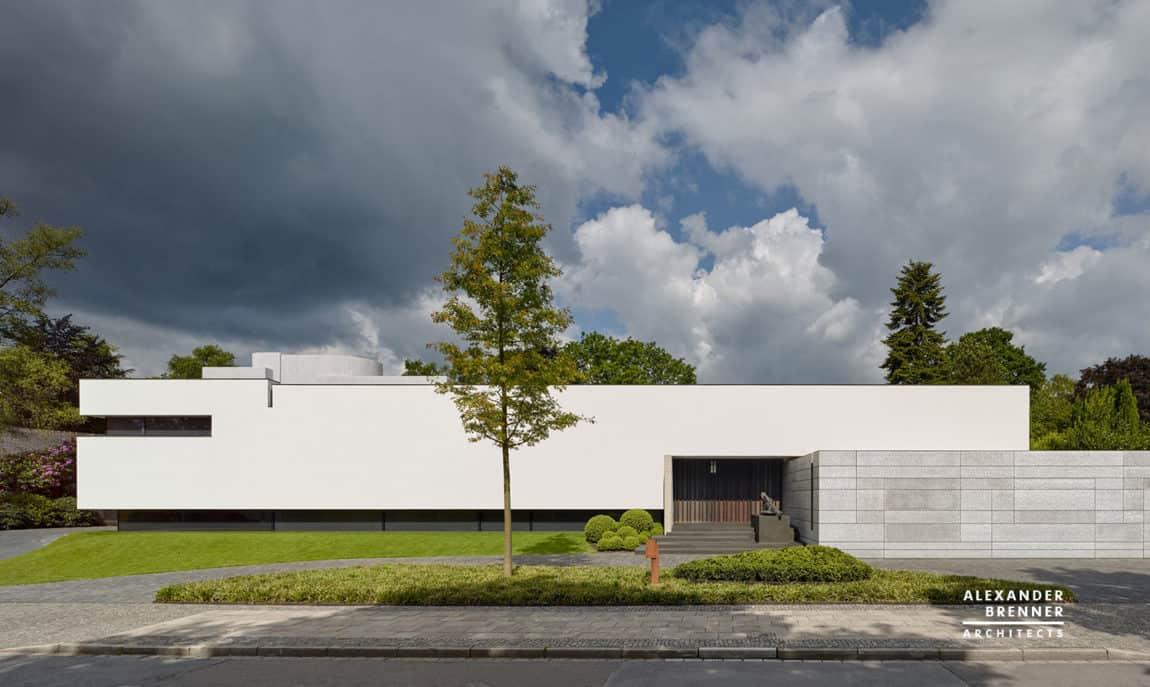 Bredeney House by Alexander Brenner Architects (2)