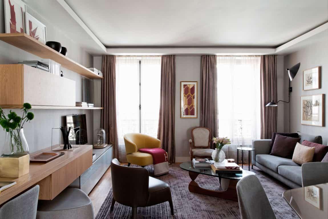 Paris Apartment by Diego Revollo Arquitetura (4)
