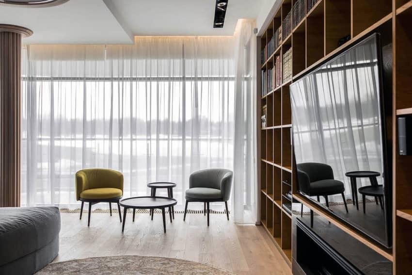 Apartment in Pestovo by Architectural Bureau Sretenka (4)