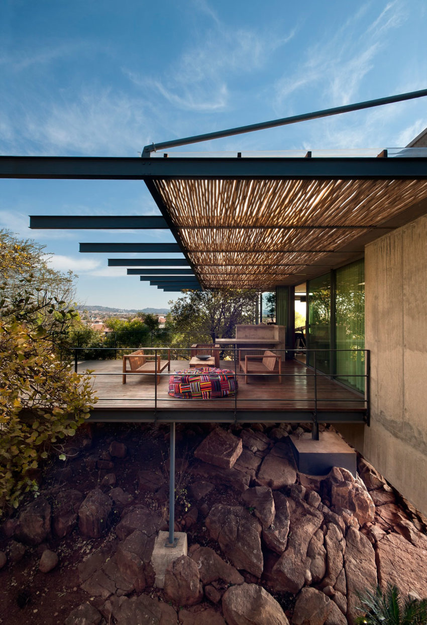 Earthworld Architects Interiors Design A Stylish Home In A Residential Golf Estate In Pretoria South Africa