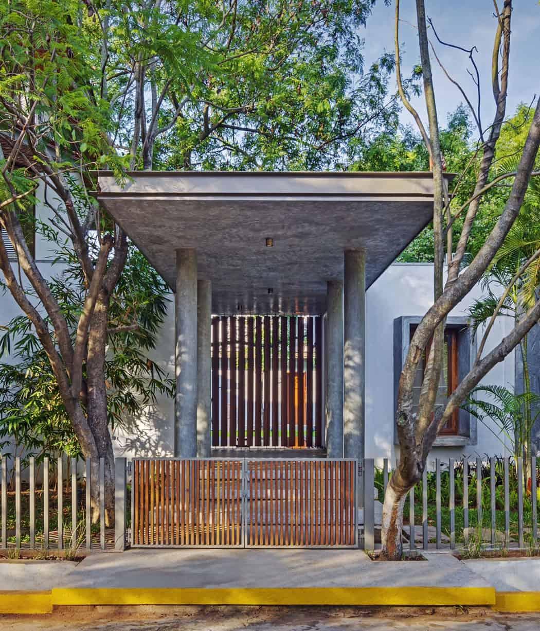 Krishnan House by Khosla Associates (2)