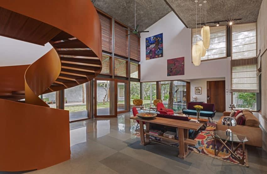 Krishnan House by Khosla Associates (13)