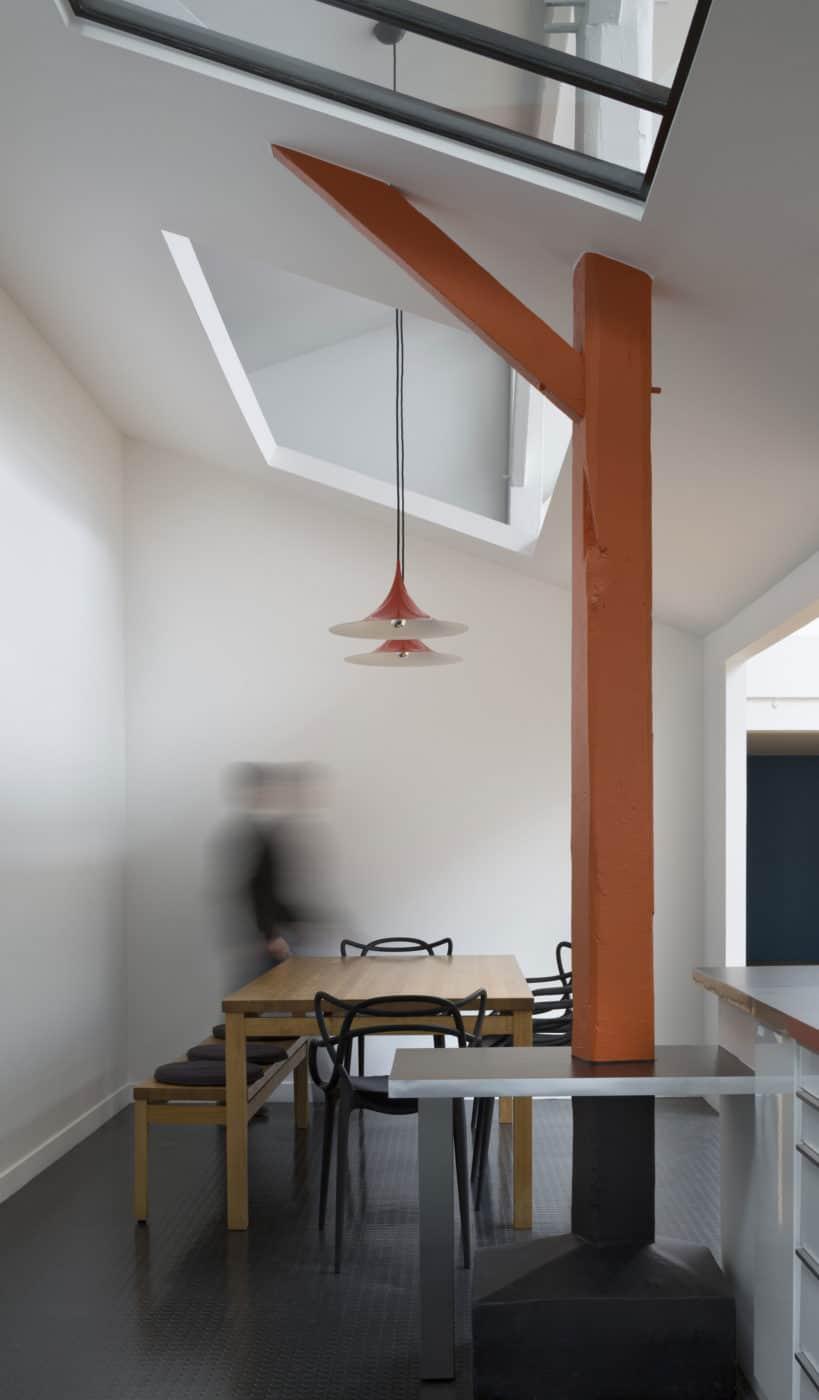 Loft in an Old Carpentry by Agnès et Agnès (5)