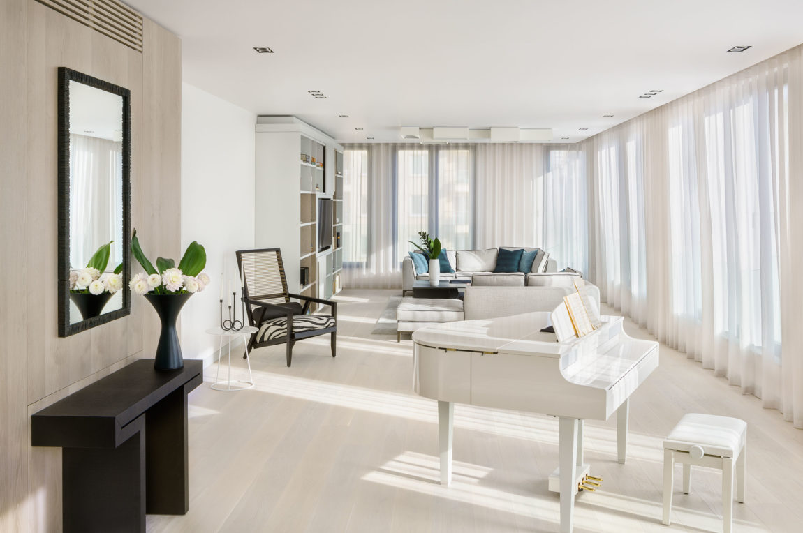 Penthouse on the Park by KNOF design (1)
