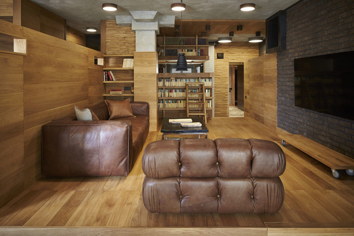 Unusual Apartment in Moscow by Alexei Rosenberg (2)