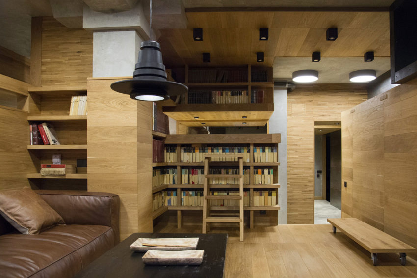 Unusual Apartment in Moscow by Alexei Rosenberg (3)