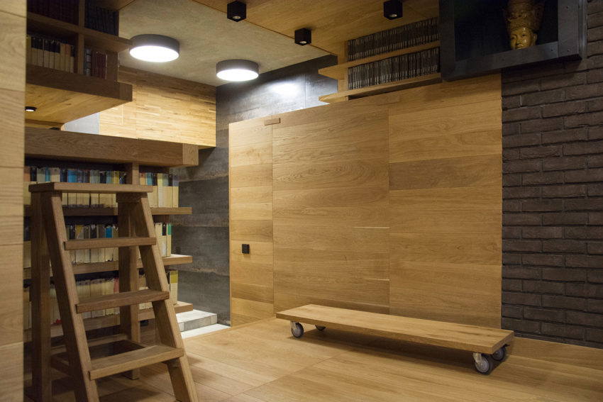 Unusual Apartment in Moscow by Alexei Rosenberg (4)