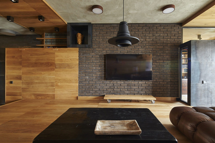 Unusual Apartment in Moscow by Alexei Rosenberg (5)