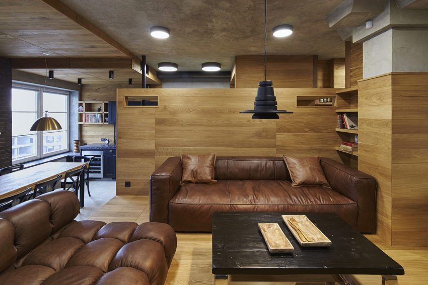 Unusual Apartment in Moscow by Alexei Rosenberg (6)