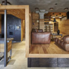 Unusual Apartment in Moscow by Alexei Rosenberg (7)
