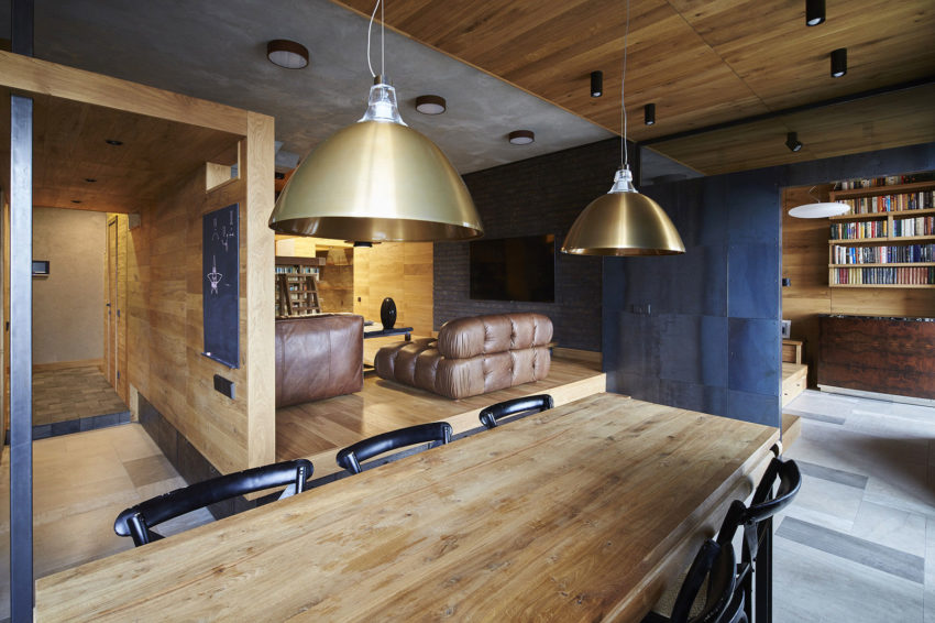 Unusual Apartment in Moscow by Alexei Rosenberg (9)