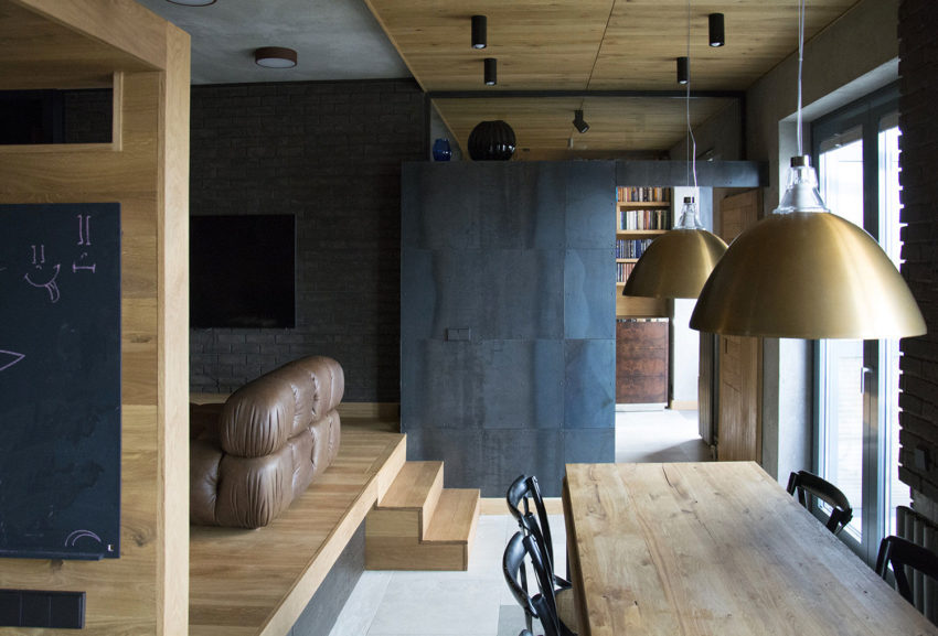Unusual Apartment in Moscow by Alexei Rosenberg (10)