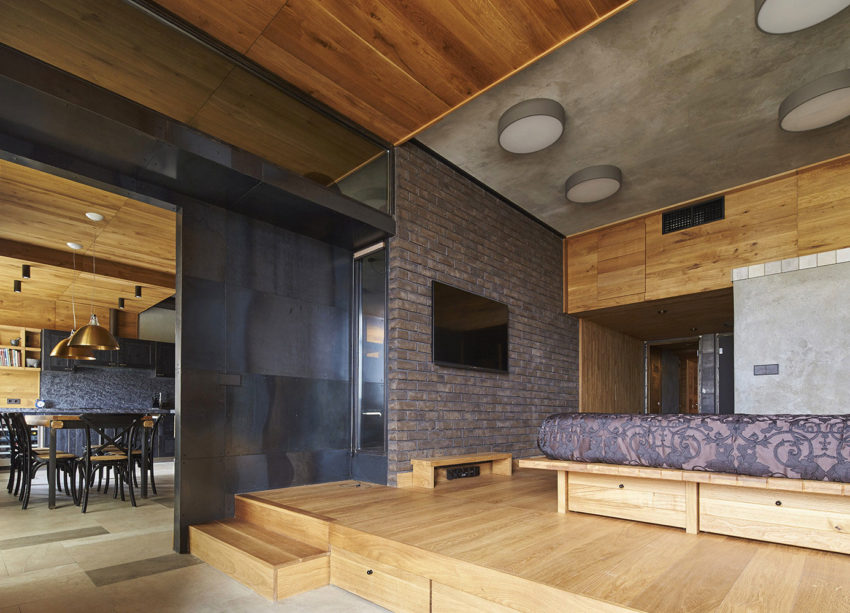 Unusual Apartment in Moscow by Alexei Rosenberg (11)