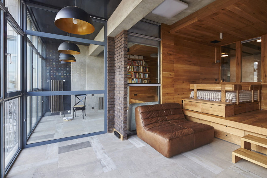 Unusual Apartment in Moscow by Alexei Rosenberg (12)