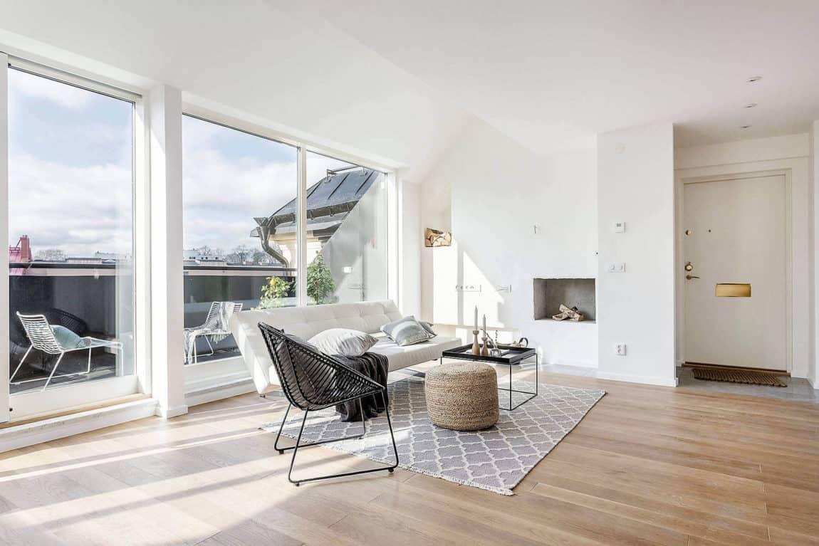 Valhallavagen Apartment by Doomie Design (9)