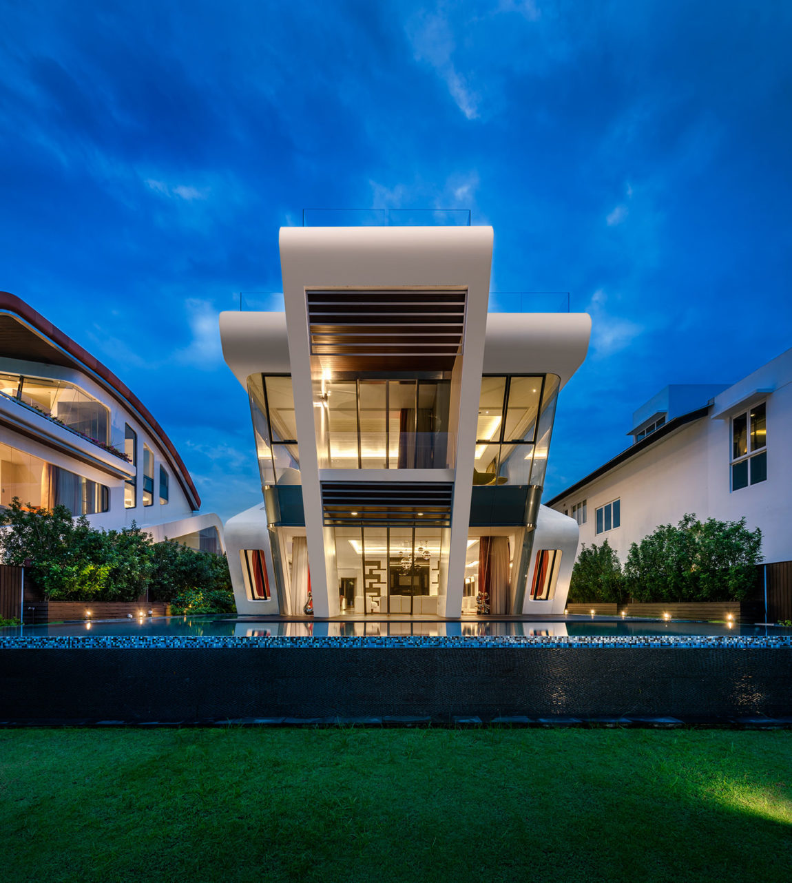 Villa Mistral by Mercurio Design Lab