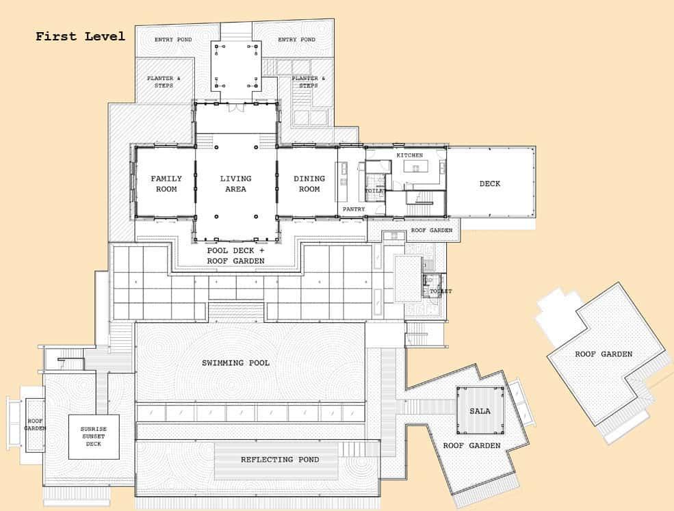 Villa Sawarin by Jean-Michel Gathy & Philippe Starck (72)