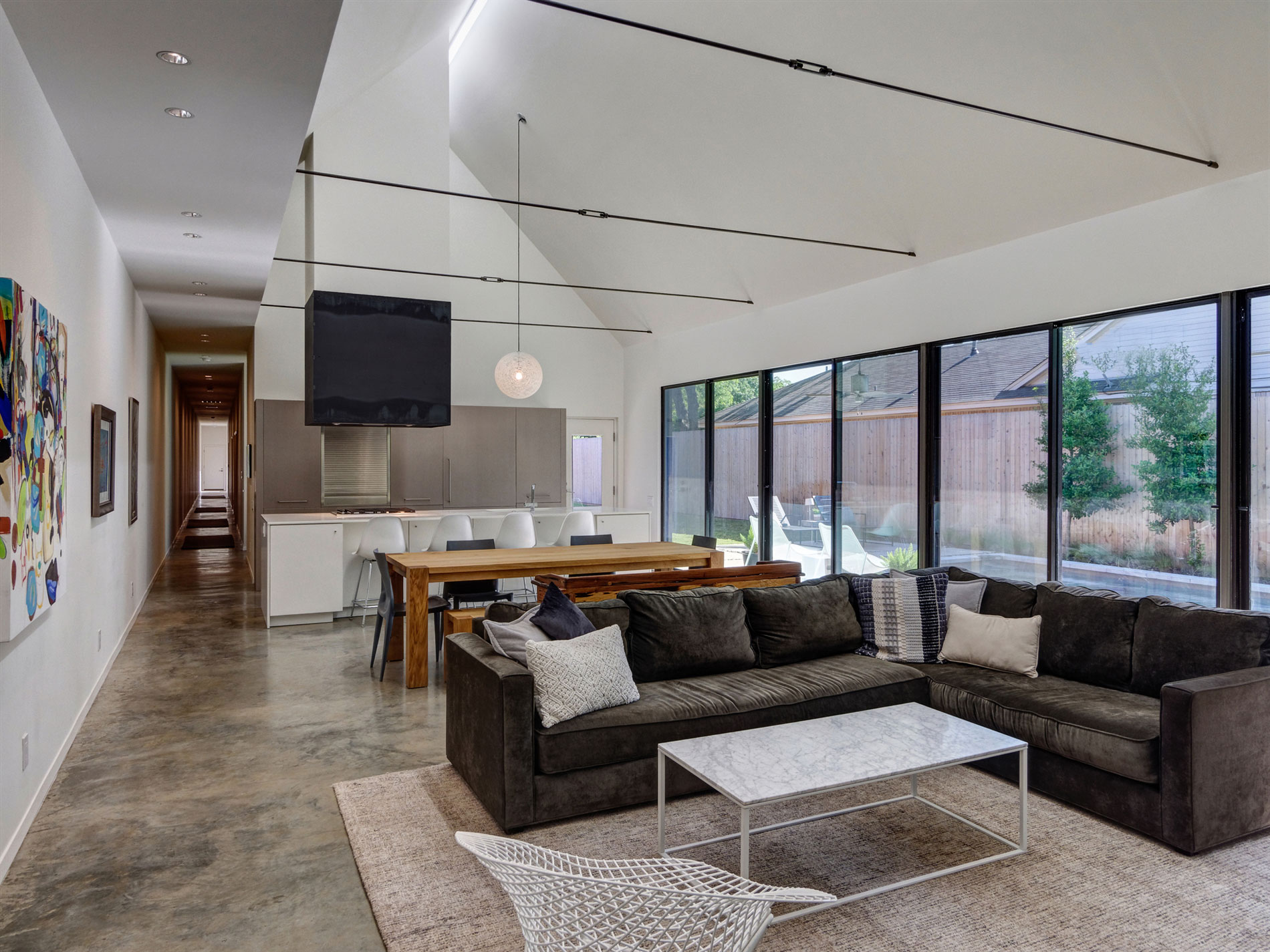 A 3,700-Square-Foot Single-Family Residence Made of Recycled Materials in Dallas