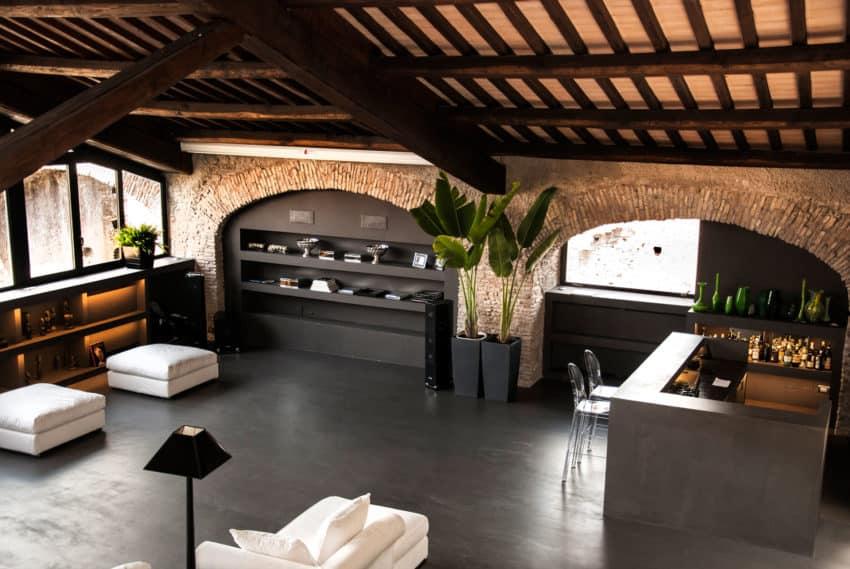 Casa al Centro di Roma by Studio Agnello & Associati (8)