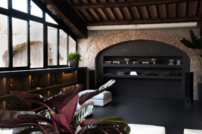 Casa al Centro di Roma by Studio Agnello & Associati (9)