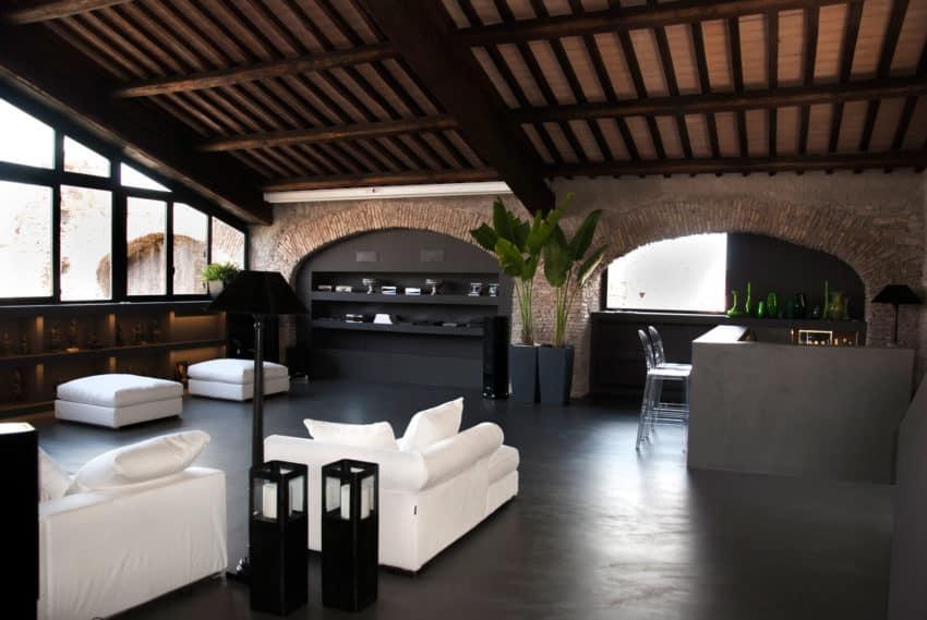 studio agnello associati design a private residence in
