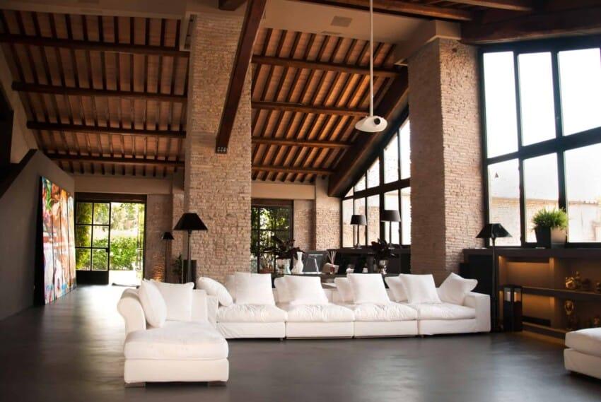Studio agnello associati design a private residence in for Casa design roma