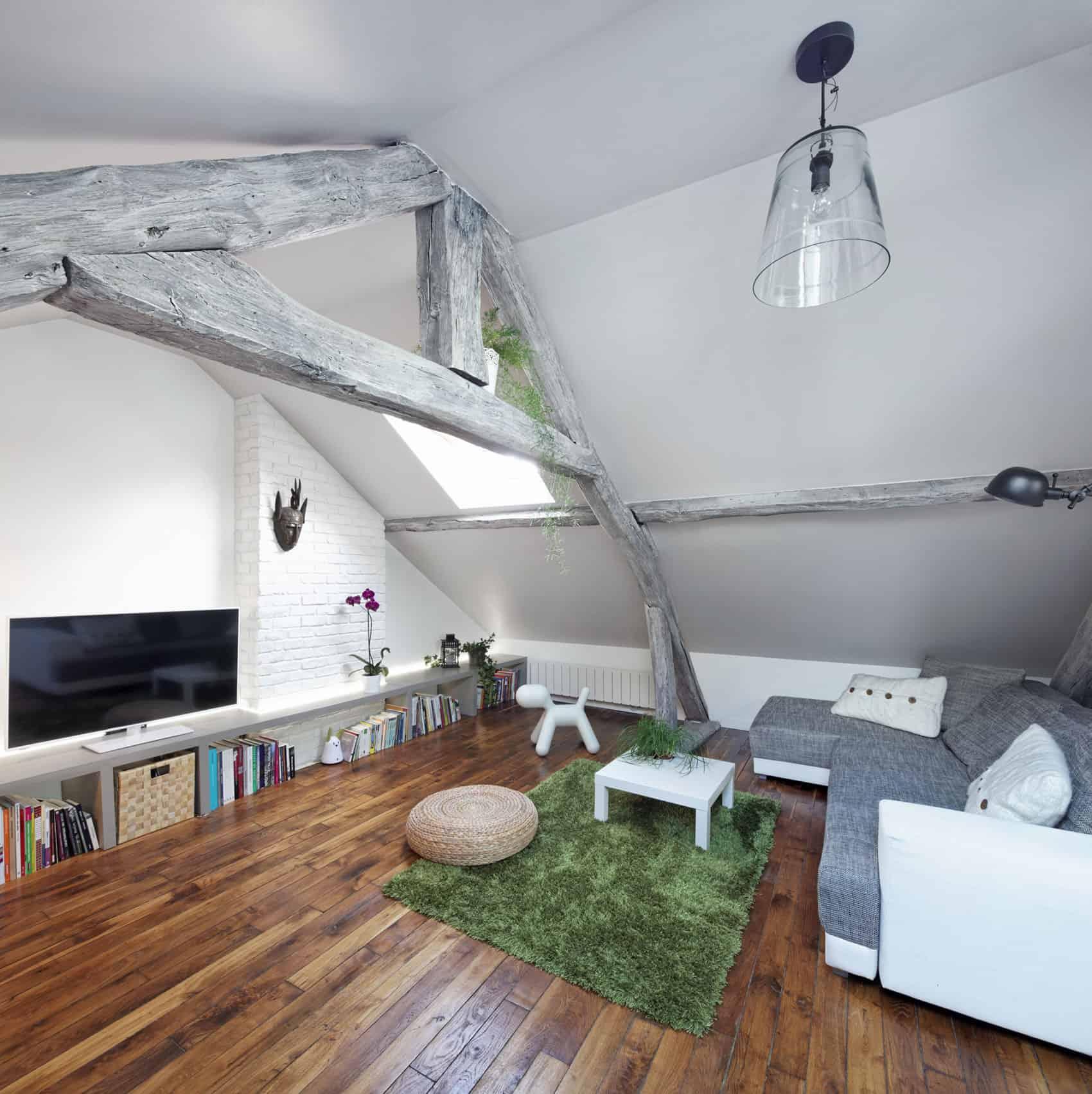 Prisca pellerin architecture int rieur renovates a 2 for Interieur francais