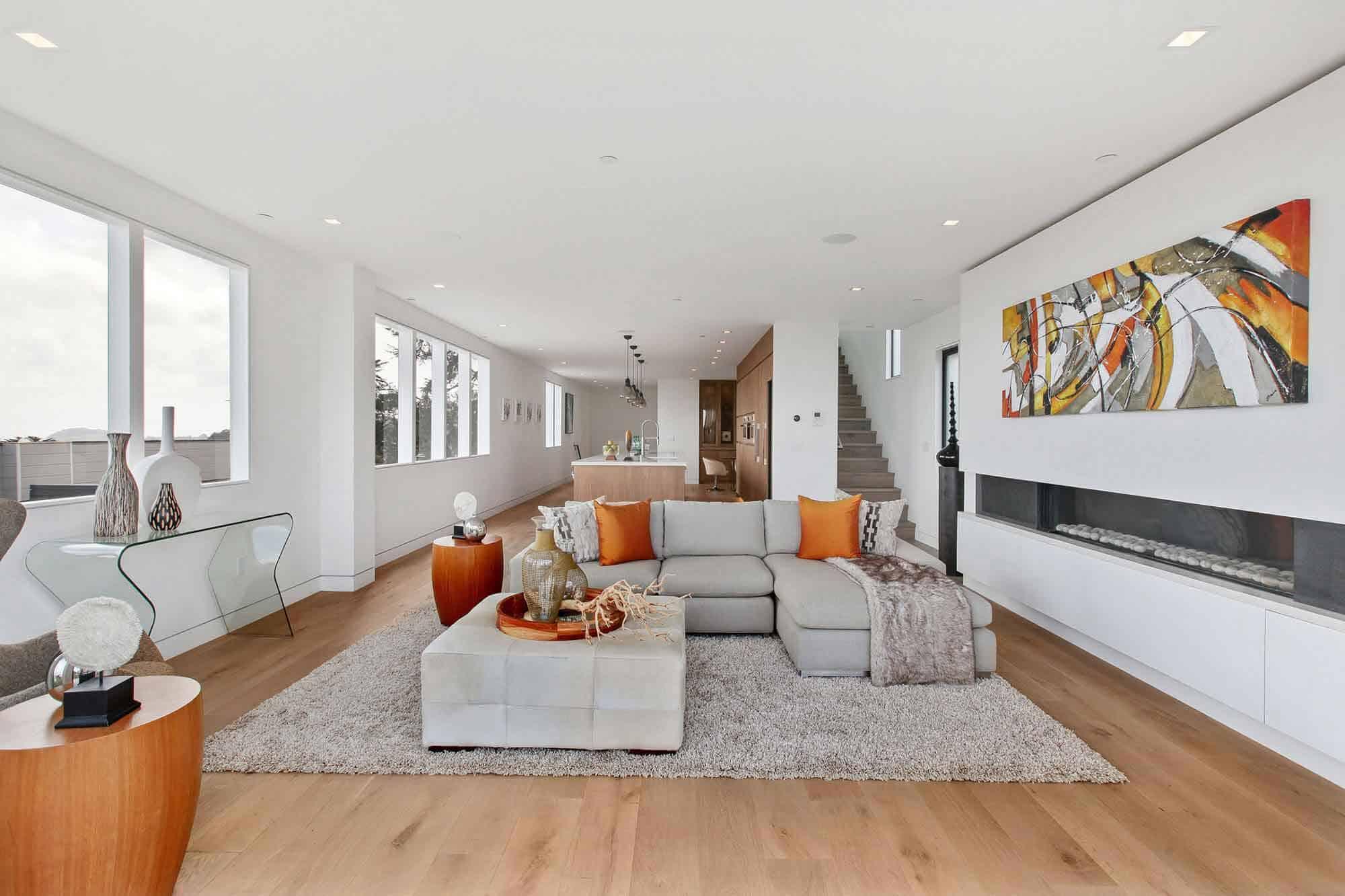Favreau Design Creates a Vibrant Modern Home in San Francisco, California