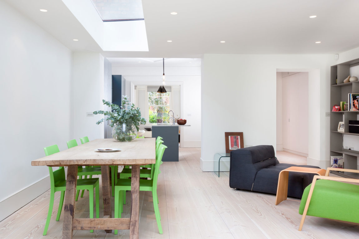 A stylish home with lots of natural light by dedraft for Natural light in homes